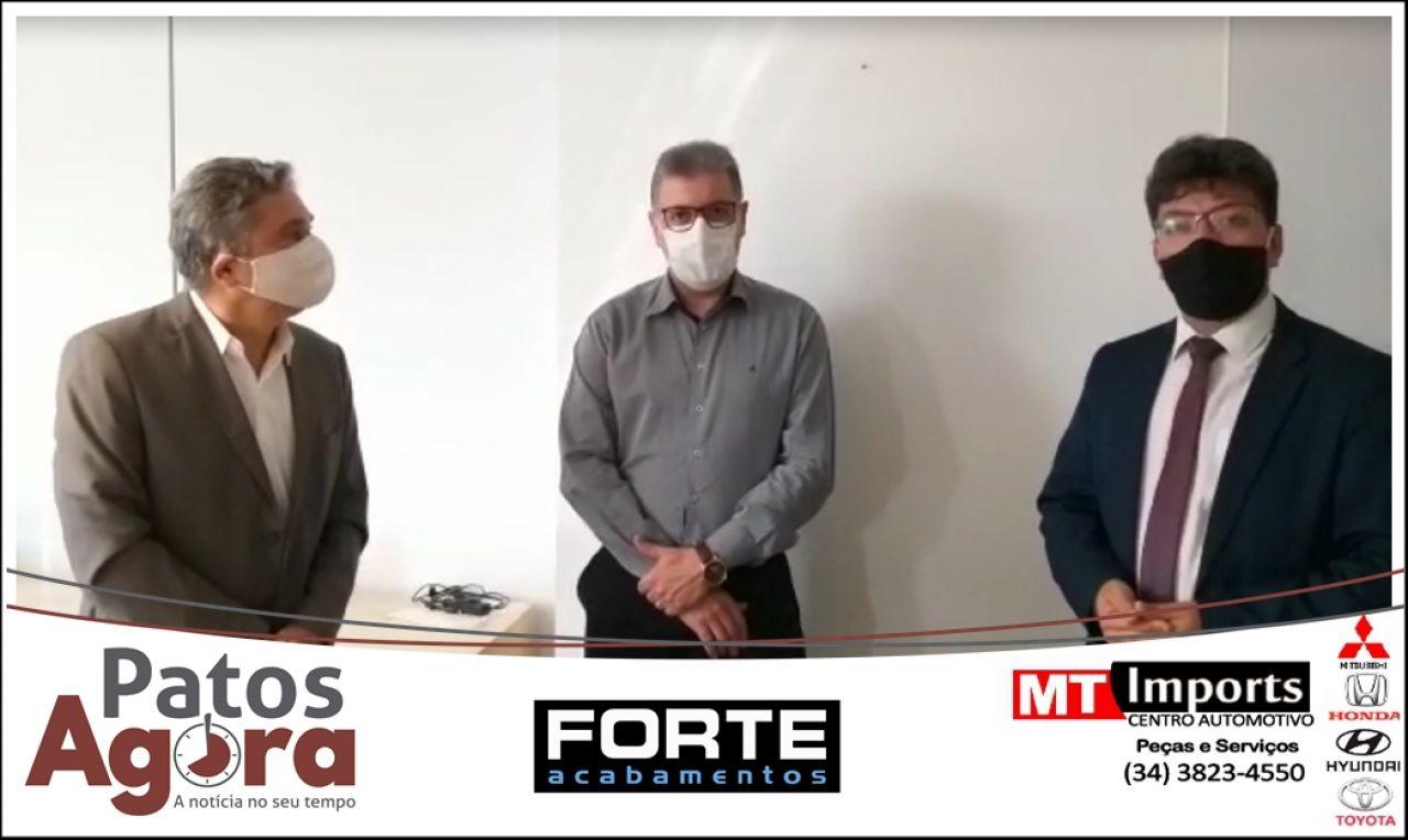 Secretário de Saúde diz que está trabalhando para abrir novos leitos em Patos de Minas