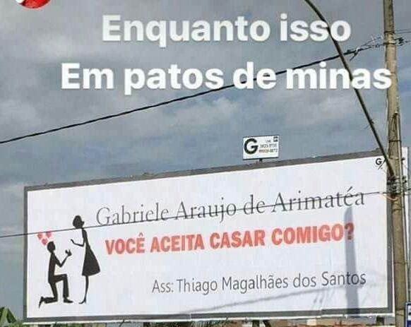 Enquanto isso em Patos de Minas - #AceitaGaby