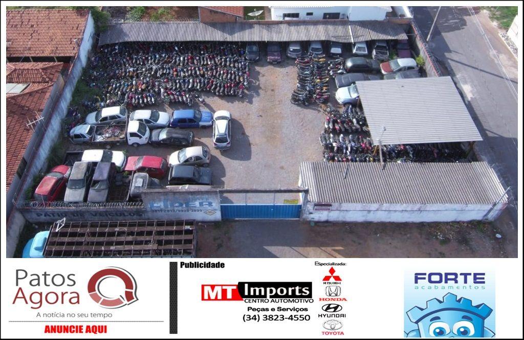 Polícia Civil realiza leilão de 181 veículos em Presidente Olegário