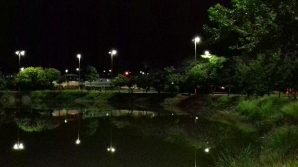 Orla da Lagoinha recebe melhorias na rede de iluminação pública