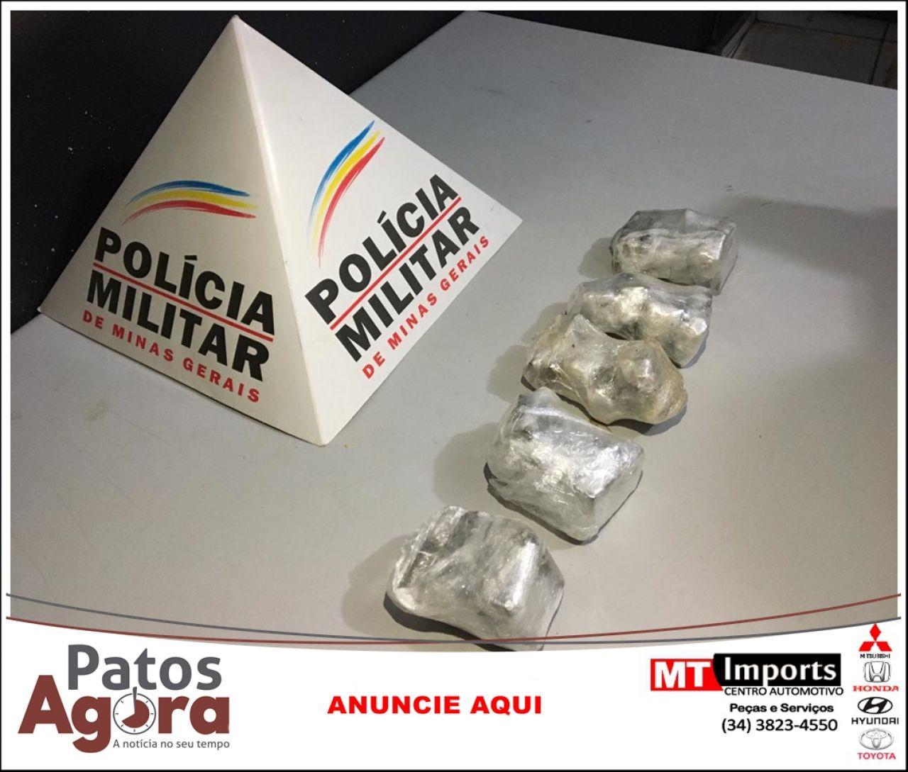 PM recebe denúncia e localiza maconha às margens do Rio Paranaíba
