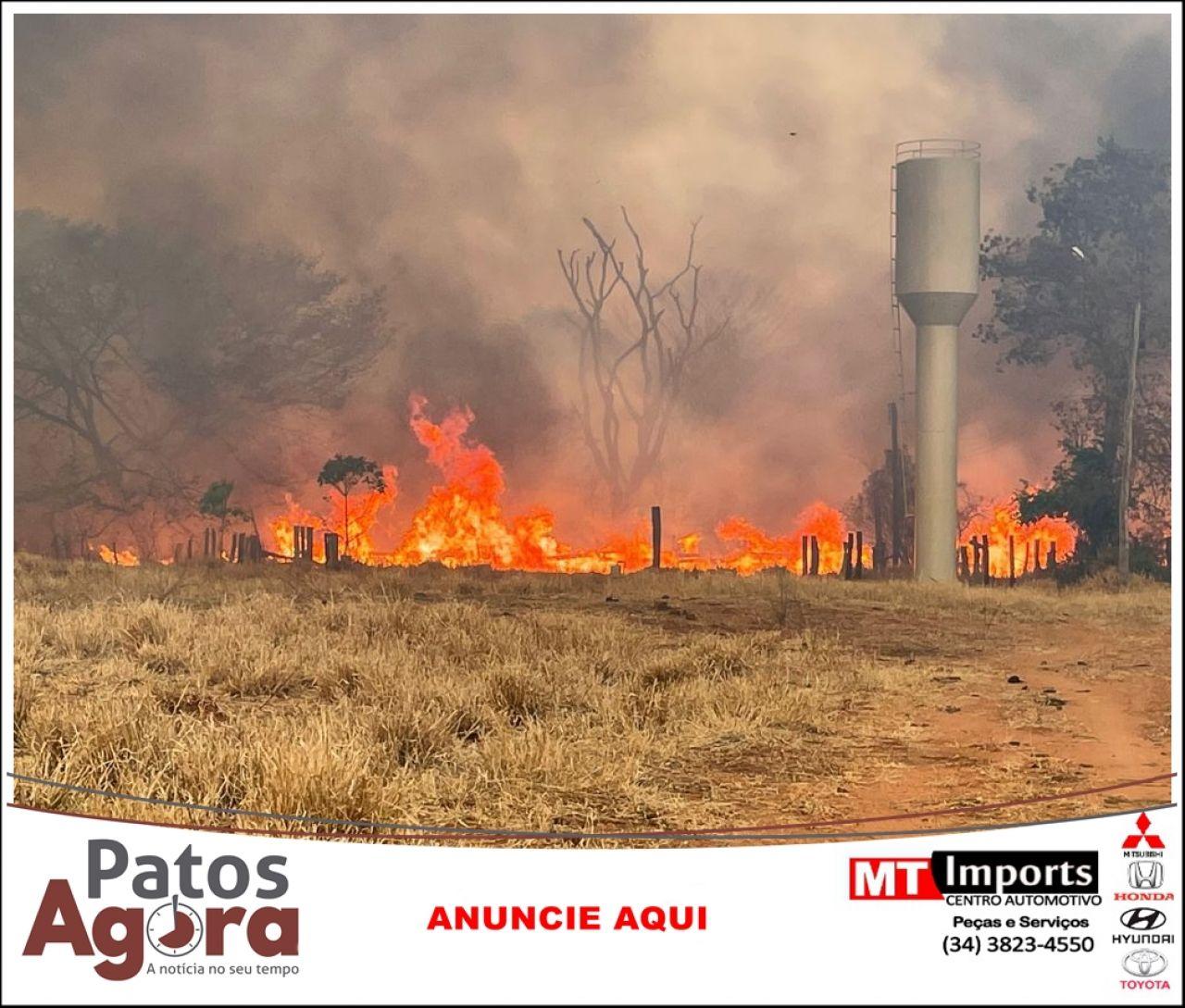 Bombeiros encerram operação Arinos no Noroeste de Minas Gerais